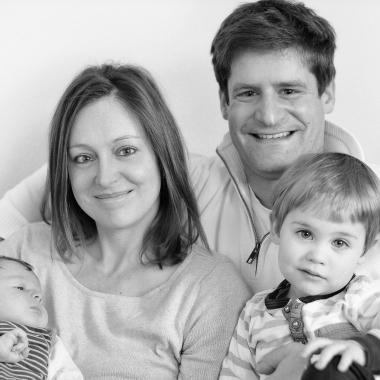 von links: Aaron, Stefanie, Daniel und Josef